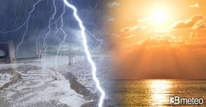 Estate 2021 tra caldo e temporali