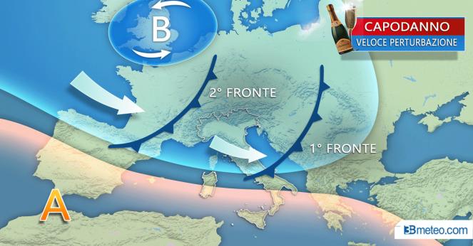 Meteo Italia: ITALIA sotto varie perturbazioni, ecco le prossime