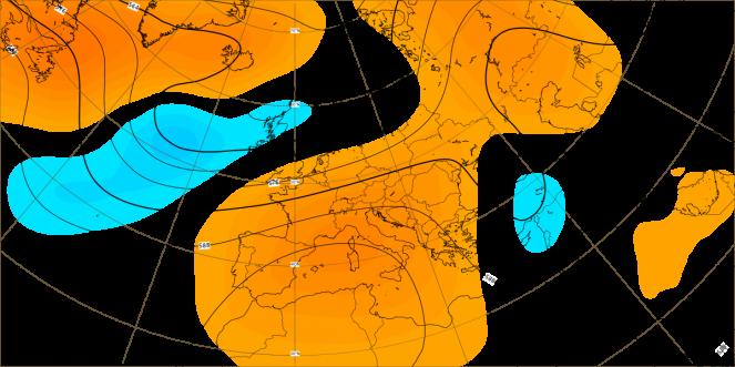 Fase centrale di agosto. Anomalie CEPM