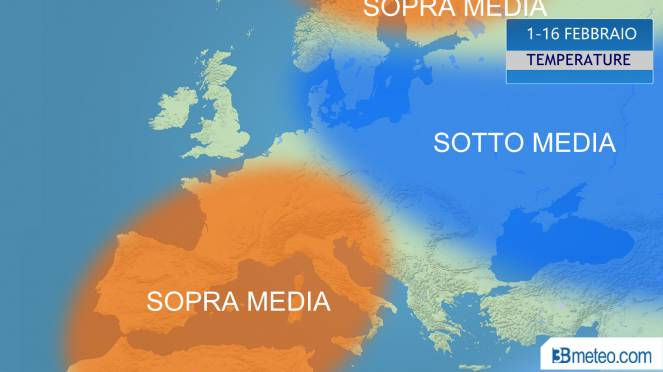 Febbraio, temperature sopra media in Italia