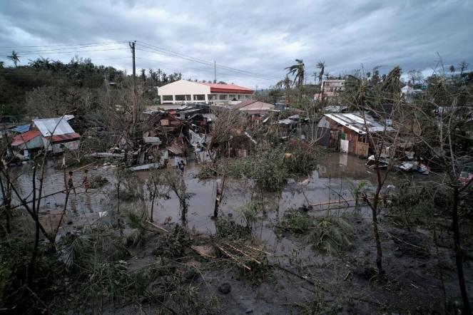 Filippine devastate dal tifone kammuri (Zalrian Sayat/EPA, via Shutterstock)