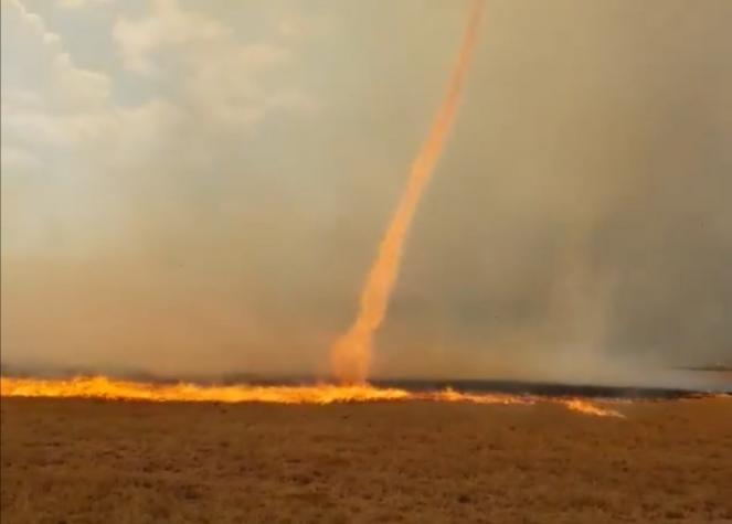 Firenado in Sud Africa