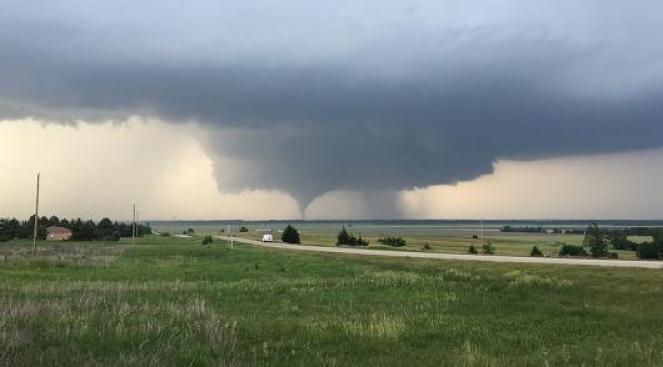 Forte maltempo e possibili tornado nel nordest degli USA (Immagine di archivio)