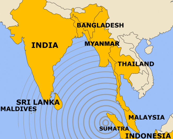 Forte scossa di terremoto nella notte al largo di Sumatra
