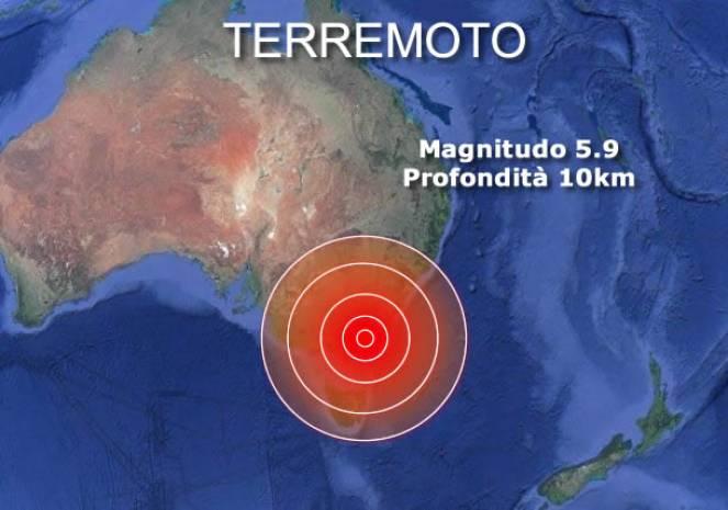 Forte terremoto na Austrália perto de Melbourne