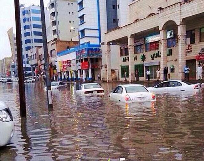 Forti piogge e alluvioni in Kuwait