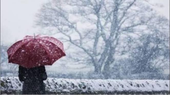 Meteo, allerta gialla in Emilia Romagna per pioggia e neve
