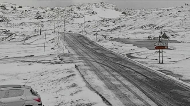 Freddo e neve fino a quote collinari in Norvegia
