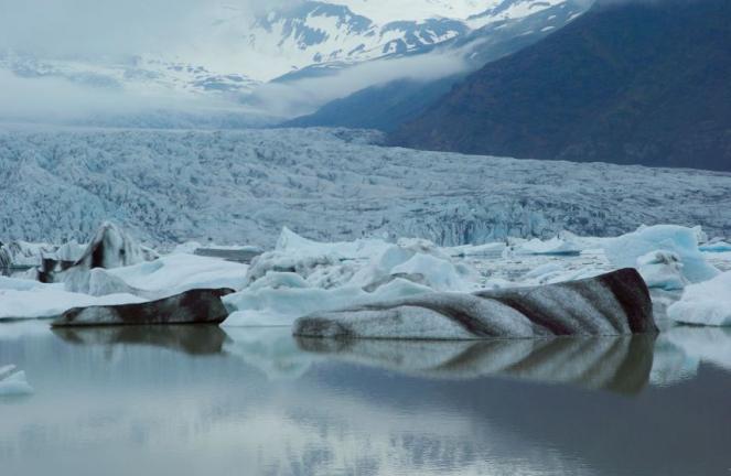Fusione record del ghiaccio artico nel mese di Aprile 2018