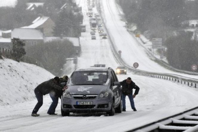 Gelo e neve su gran parte d'Europa (foto di repertorio)
