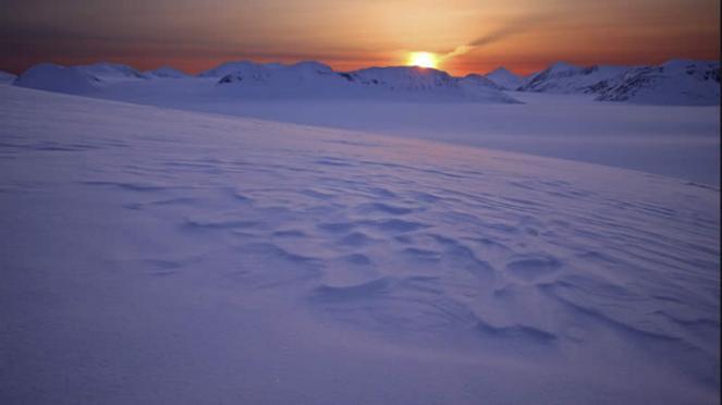 gelo estremo in Alaska