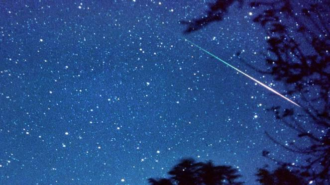 geminidi. notte di stelle cadenti