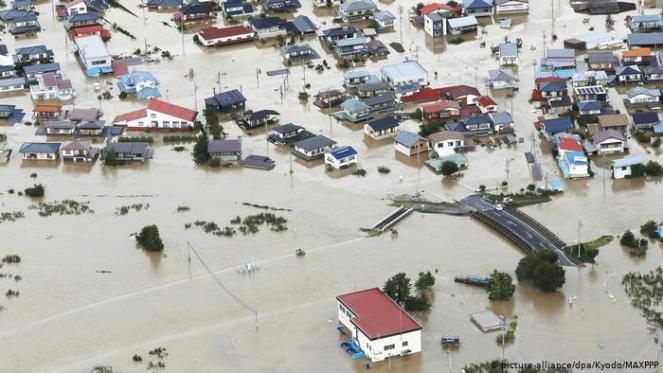 Giappone, si aggrava il bilancio del disastro causato dal tifone Hagibis