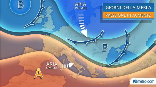 Giorni della Merla con alta pressione e clima molto mite