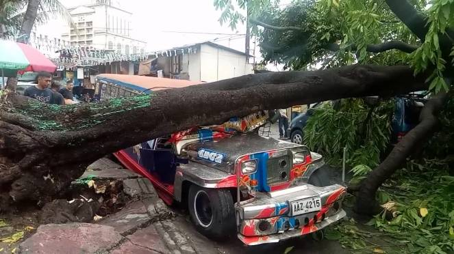 Gli effetti di Danas sulle Filippine