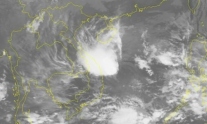 Goni visto dal satellite