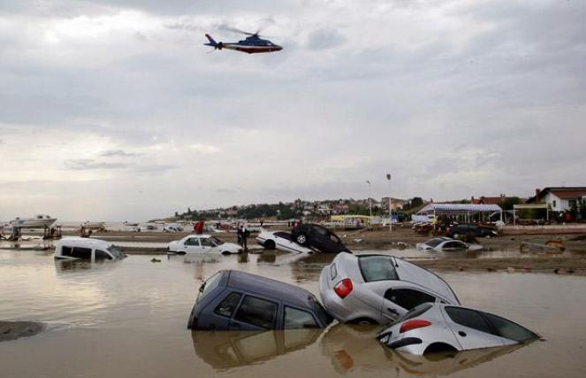 Grave alluvione sulla Turchia nord orientale