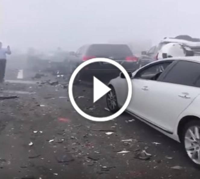 Grave incidente per nebbia nei pressi di Abu Dhabi
