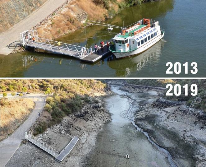 grave siccità sta interessando il Portogallo