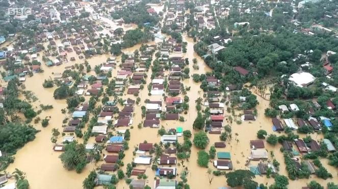 Gravi alluvioni in Myanmar (Birmani) almeno 60 vittime