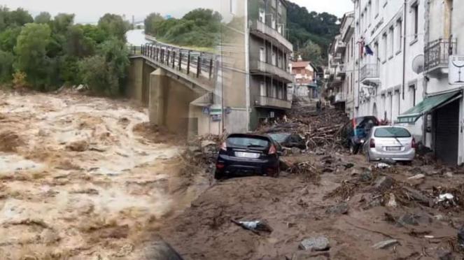 Gravi inondazioni in Sardegna, provincia di Nuoro (Bitti) devastata da un alluvione