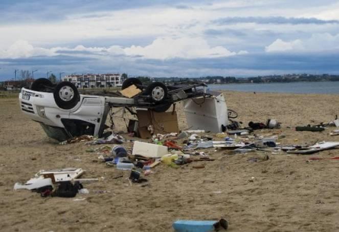 Grecia, vittime e gravi danni per l'intensa ondata di maltempo (fonte foto Repubblica)