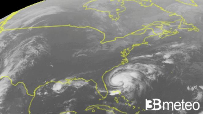 Humberto ora è uragano