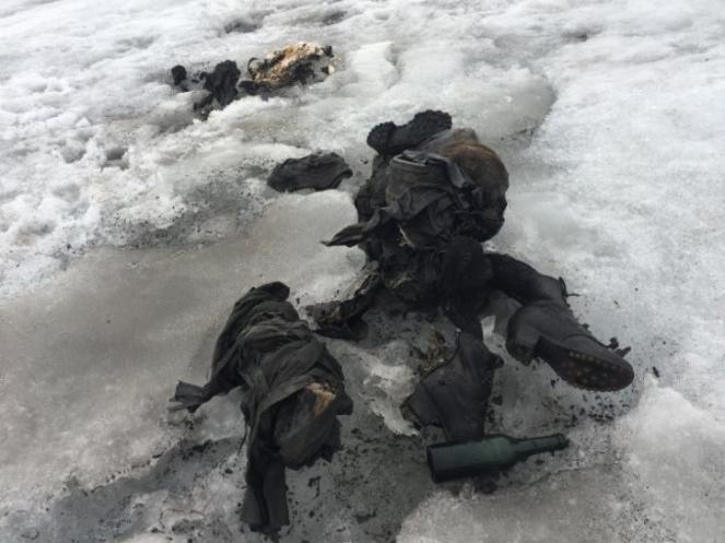 Coppia scomparsa 75 anni fa ritrovata vicino a un ghiacciaio in Svizzera