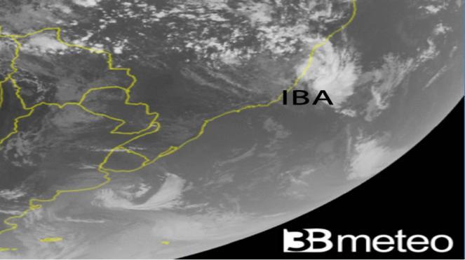 Iba, prima tempesta tropicale dal 2010 nel Sud Atlantico