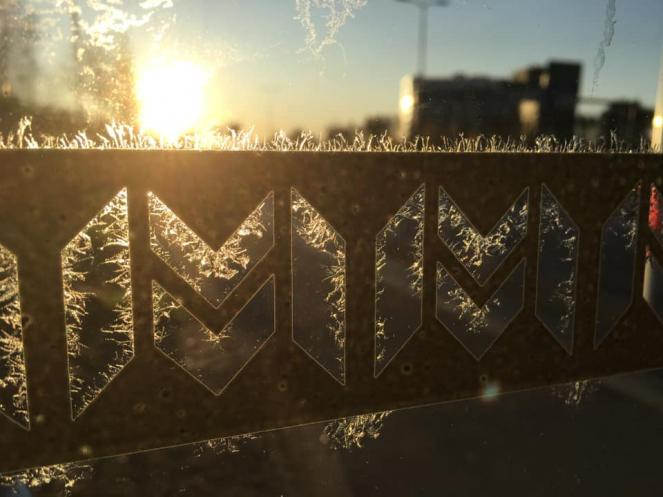 Il gelo della Finlandia, foto di Joana Turpeinen (severe weather)
