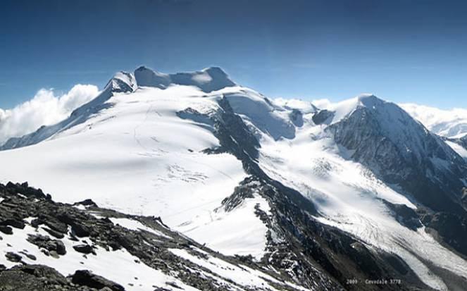 Il ghiacciaio dell'Ortles