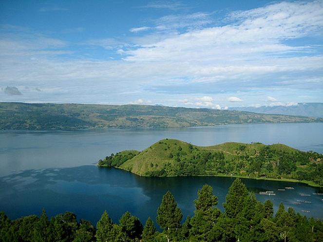 Il lago Toba in Indonesia, un altro gigante addormentato