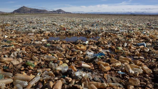Il lago Uru Uru in Bolivia, il più inquinato al mondo