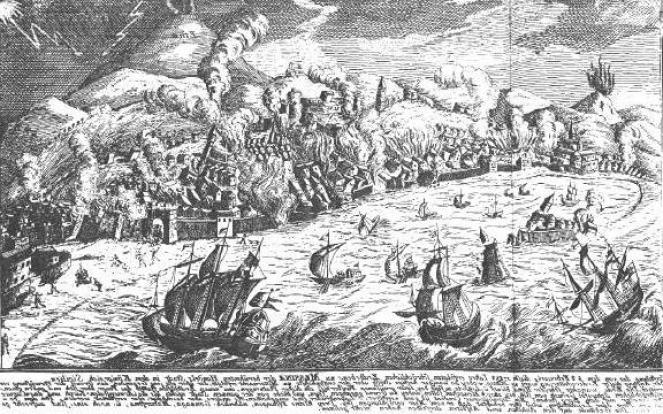 Il medio evo tra il 1343 ed il 1456 fu caratterizzato da almeno 3 tsunami che colpirono l'area tirrenica