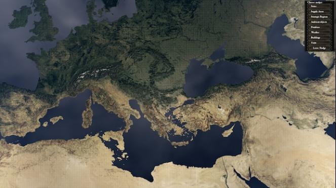 Il Mediterraneo secondo il progetto Atlantropa