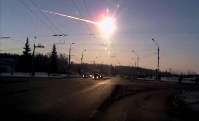 Il meteorite in Russia