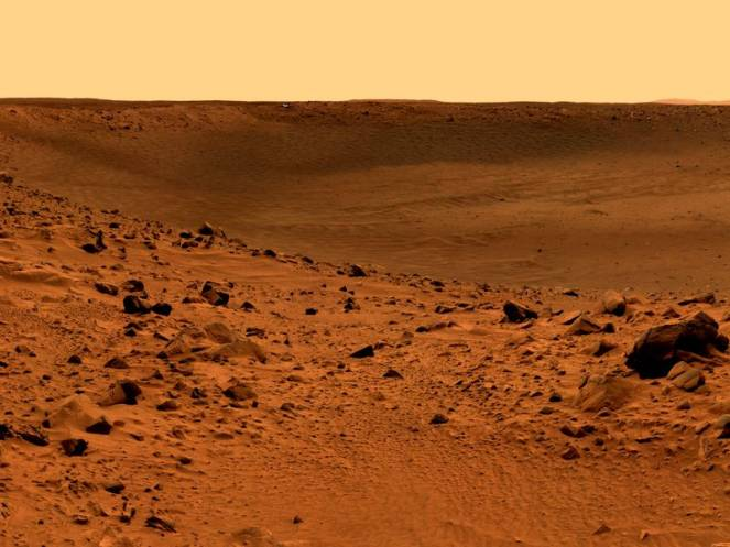 Il suolo sterile del pianeta rosso