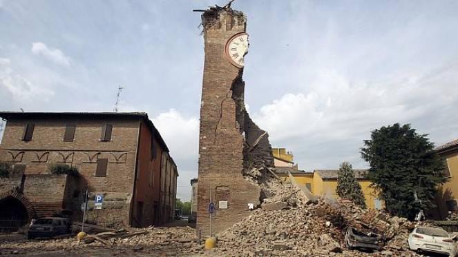 Il terremoto dell'Emilia Romagna del 2012 fu anch'esso caratterizzato da una lunga sequenza sismica