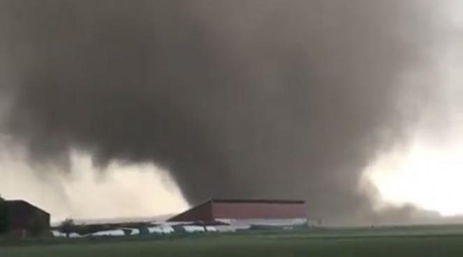 Il tornado di mercoledì a Viersen - Germania
