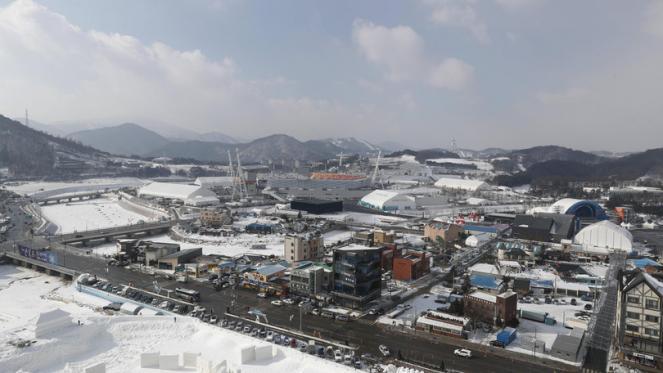 Il villaggio olimpico - EPA