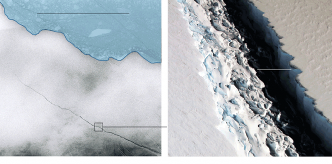 Immagine da satellite - fonte: nytimes.com