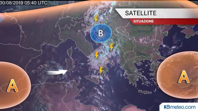 Immagine dal satellite