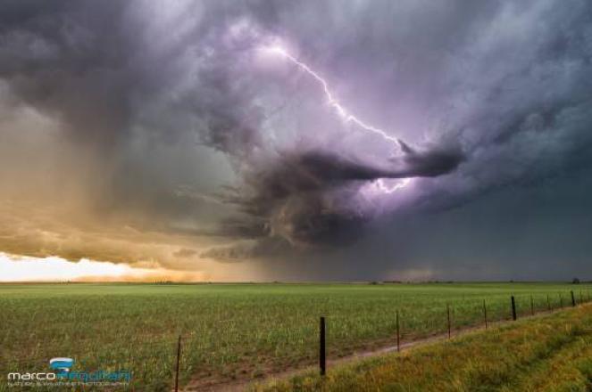 Previsti forti temporali oggi e domani su tutta la regione
