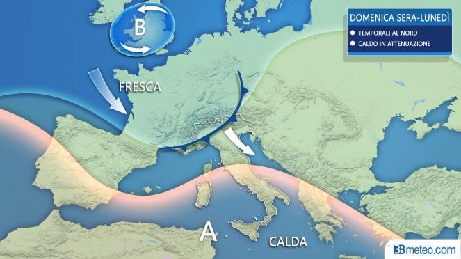Ponte del 2 giugno: caldo al Sud e temporali al Nord