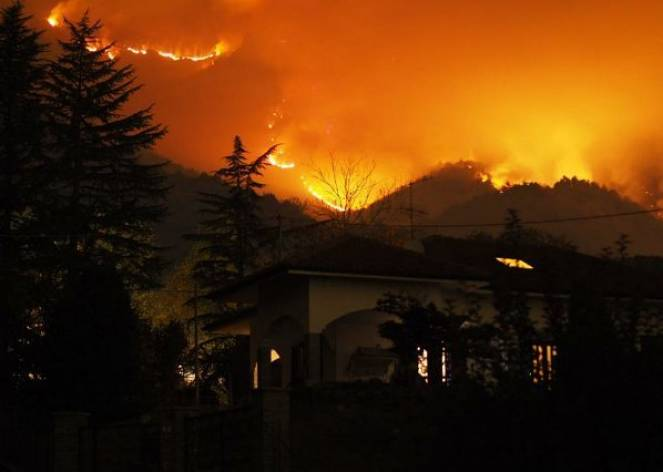 Incendi in Val Susa
