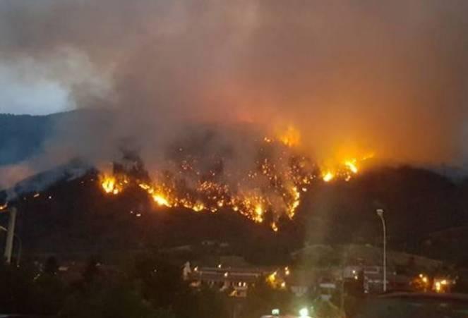 Incendi, la situazione
