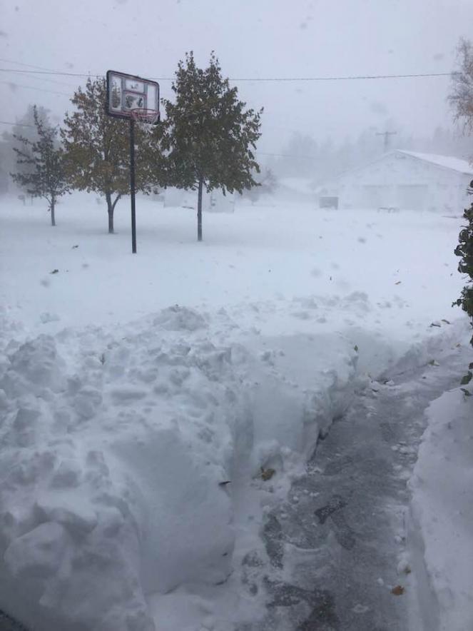 Incredibile ondata di freddo e neve negli Usa, emergenza in Nord Dakota (da severe weather)