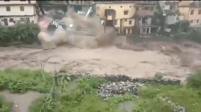India alle prese con piogge monsoniche