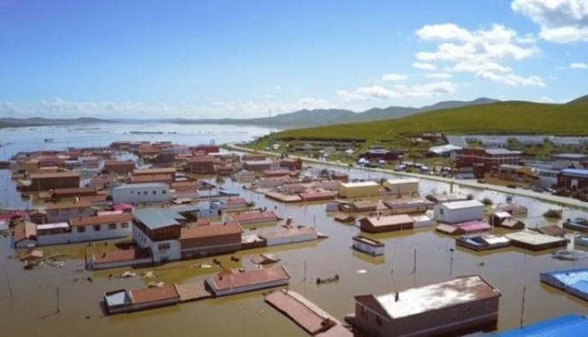 Inondazioni in Cina (Fonte immagine: reuters.com)