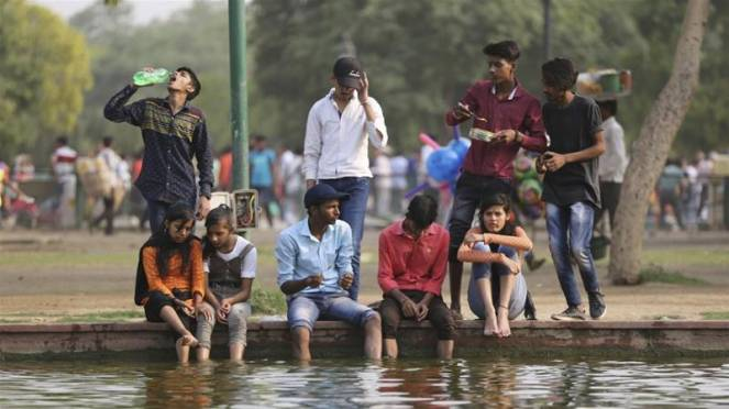 Intensa ondata di caldo in India, possibili punte di 48-49°C